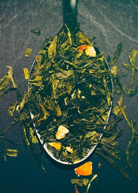 spoon-tea-green-tea-tea-leafs-21083